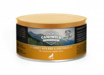 Caniwild Poultry with Rice and Vegetables – puszka z zamykanym wieczkiem – 410 g