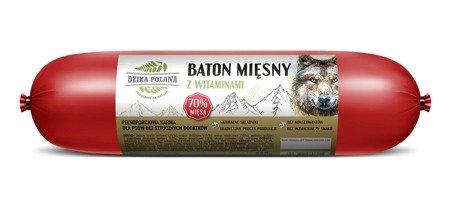 Baton Mięsny dla psa Dzika Polana 70% mięsa 850g