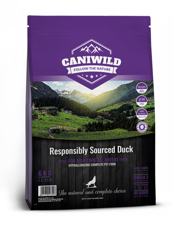 Caniwild Adult Freshly Prepared British Duck próbka 100g Kaczka