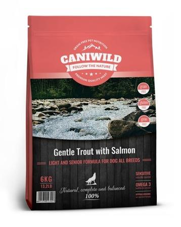 Caniwild Light and Senior Gentle Trout with Salmon 6kg Łosoś i Pstrąg