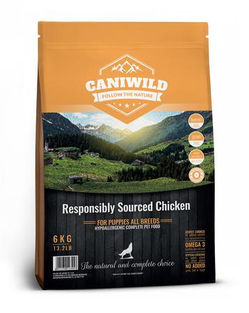 Caniwild Puppy Free run Chicken & Turkey 6kg Kurczak, Indyk i Łosoś