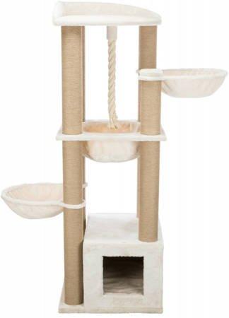 Drapak dla kota XXL Elia z hamakami, sznurem i budką