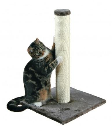 Drapak dla kota w formie słupka - szary