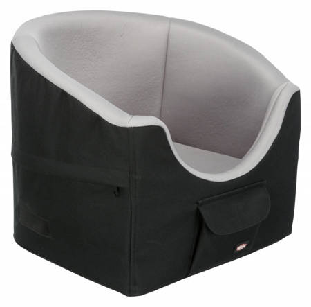 Miękki fotelik samochodowy ze smyczą dla psa - 39x45 cm