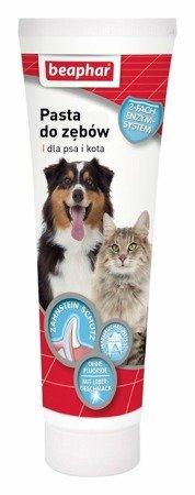 Pasta do zębów o smaku mięsa dla psów i kotów 100g