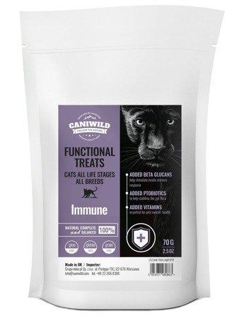 Przysmaki wspomagające odporność Caniwild Cat Immune Treats 70g