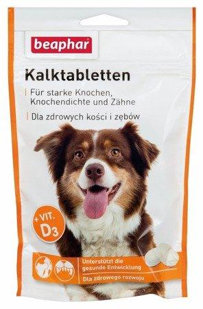 Wapń w tabletkach dla psa z witaminą A i D3 Kalktabletten 70 tabletek