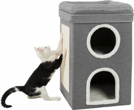 Wieża dla kota Saul legowisko i drapak w jednym