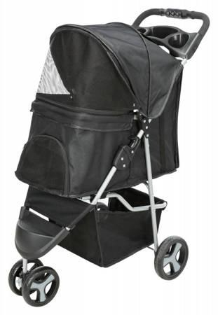 Wózek dla psa, kota z trzema kołami Wózek spacerowy